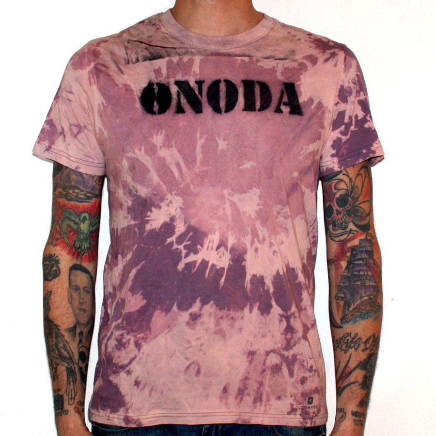 Onoda tie die t-shirt
