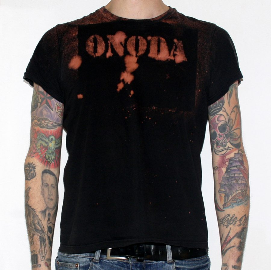 DIY T Shirt bleached, Onoda punk band