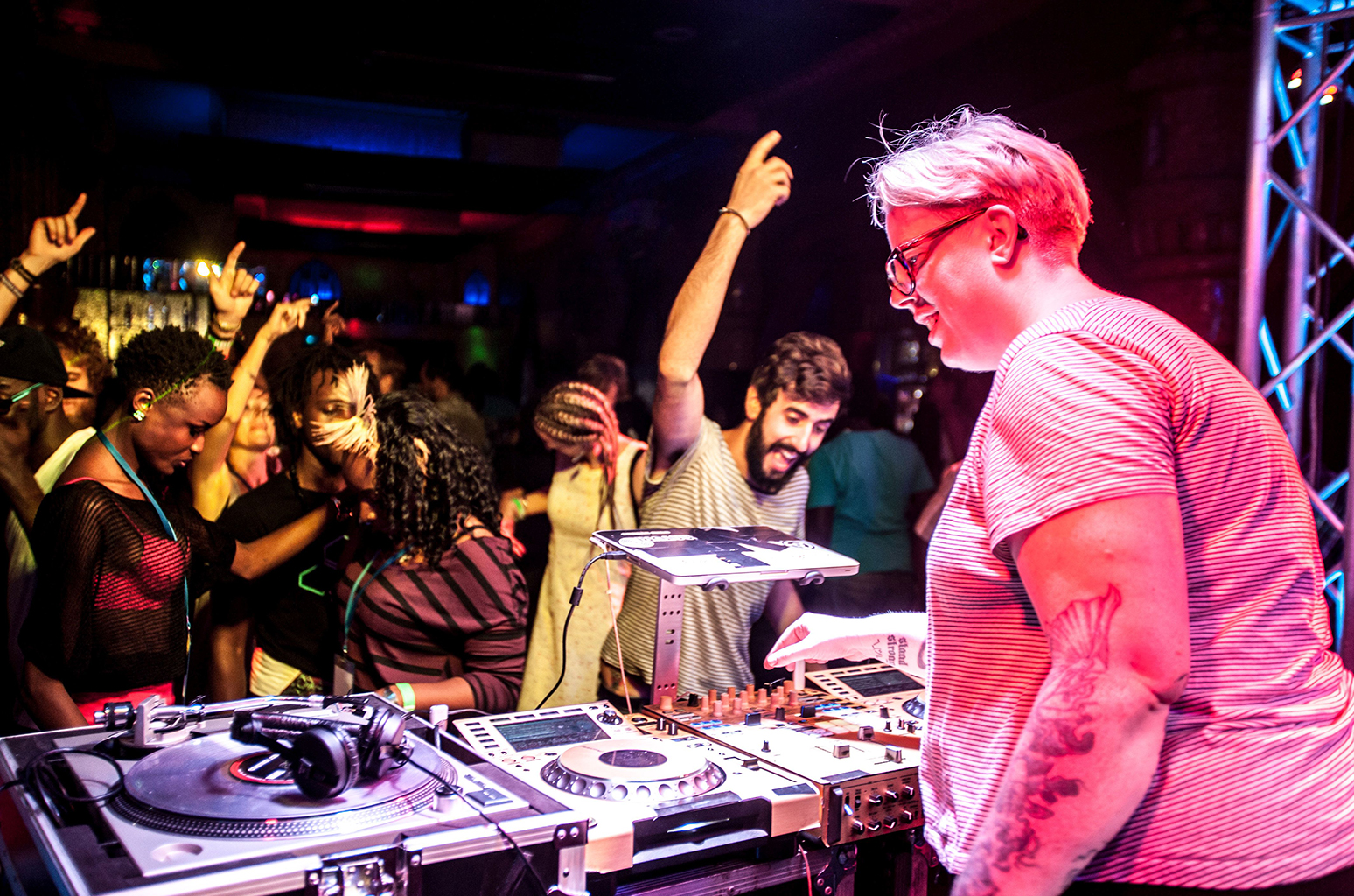 the black madonna playing live