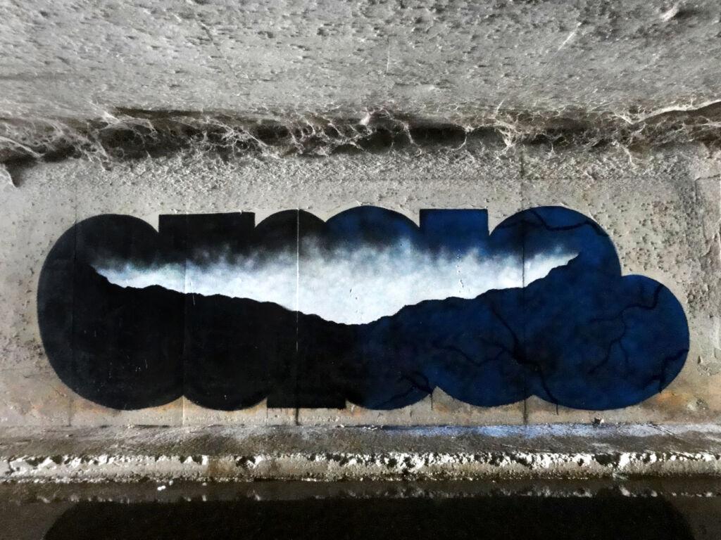 N.O.Madski wall graffiti