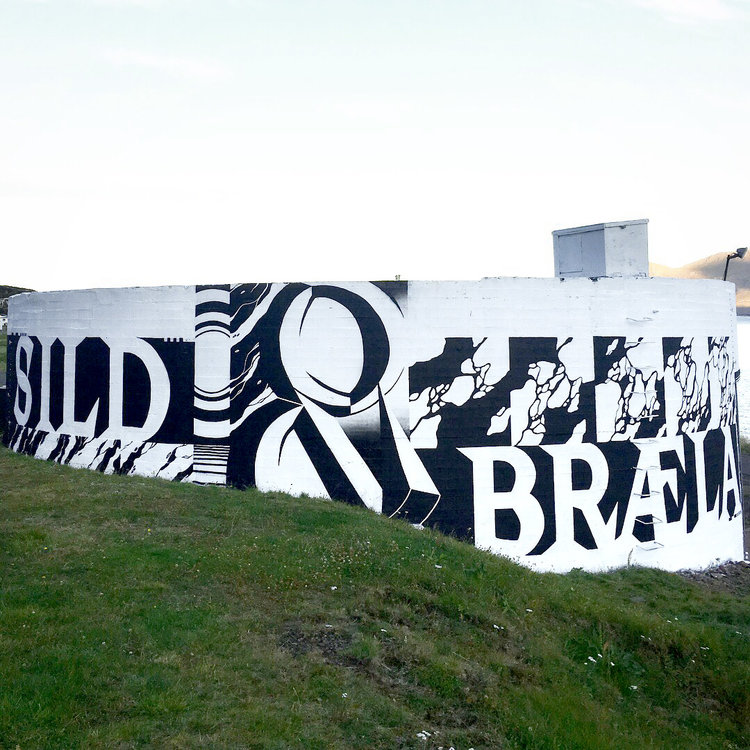 Krot & Krass graffiti