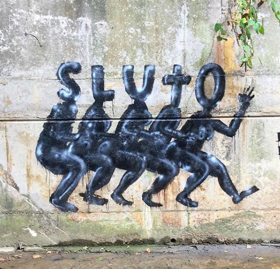 Sluto Crew wall