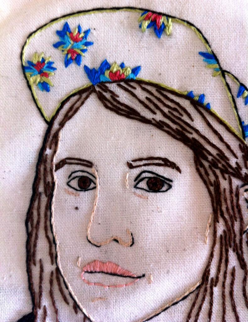 PATRICIA LAROCQUE self portrait